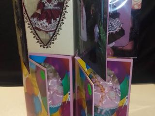 Set of 4 Marie Osmond Fine Porcelain Greeting Card Dolls