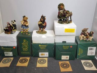 lot of 5 Boyds Bears and Friends from the Bearstone Collections