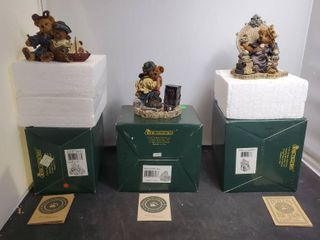 lot of 3 Boyds Bears and Friends from the Bearstone Collections