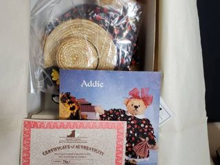 ADDIE IN SEPTEMBER  from Gallery Teddies  with Certificate of Authenticity