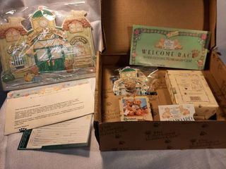 Cherished Teddies lloyd 1997 Membearship Figurine Ct103 Boxed
