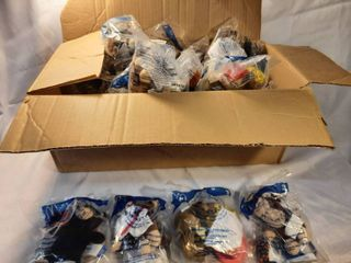 lot of Mcdonalds Build a Bear Toys