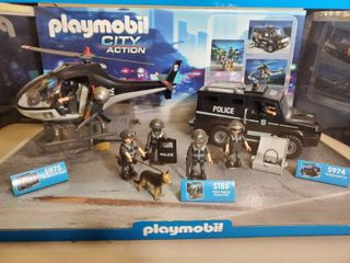 Playmobil City Action Tactical Collection  Police