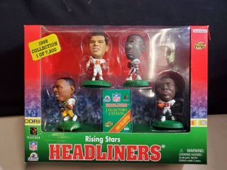HEADlINERS  4 pack of Rising Stars  Tony Gonzalez  and More