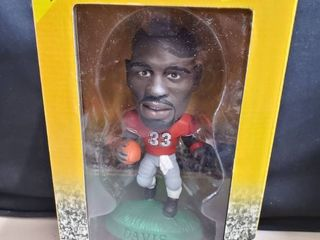 terrell davis   university of georgia bulldogs 1998 limited edition headliners xl premier collection   1 of only 15 000