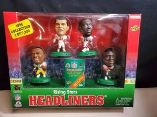 NFl HEADlINERS  4 Pack of Rising Stars   Tony Gonzalez and More