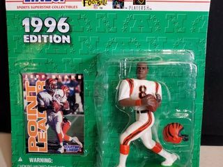 1996 Jeff Blake Cincinnati Bengal Starting lineup Figurine figure Kenner Nfl