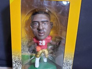 NFl HEADlINERS Xl  Warrick Dunn  with Certificate of Authenticity