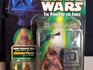 Star Wars3 5 Jawa And Gonk Droid Collectible Action Figure with CommTech Chip