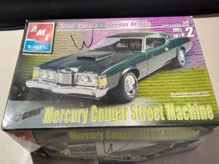 Ertl Street Customs Mercury Cougar Model Kit