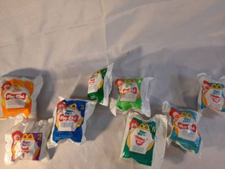 lot of Mcdonalds Robo Chi PetsToys