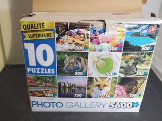 Photo Gallery 5600 Piece 10 Puzzles