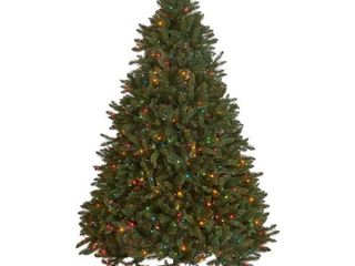 9ft Pre lit  Colored Bulbs  Norway Spruce Christmas Tree