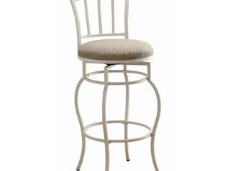 Coaster Bar Chair   White