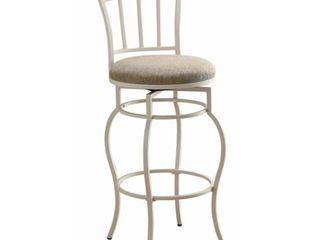 Coaster Bar Chair   White
