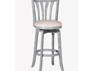 Hillsdale Furniture Savana Swivel Counter Stool  Blue  25 75in