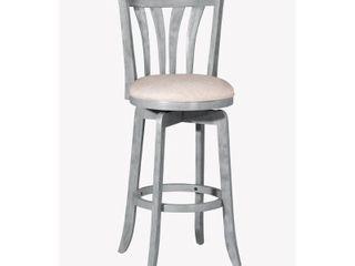 Hillsdale Furniture Savana Swivel Counter Stool  Blue  25 75in