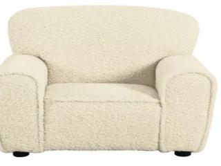 HomePop Kids Faux Sheepskin Club Chair