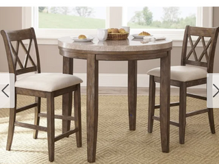 The Gray Barn Abernathy Counter Height Chairs   Set of 2