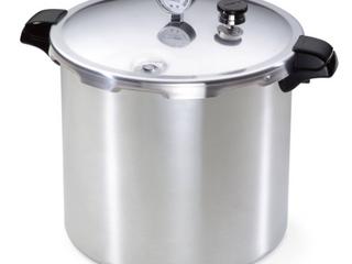 23QT Aluminum Pressure Canner   Cooker