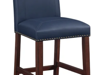 Claren leather Counter Stool by Greyson living