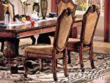 Acme Furniture Chateau De Ville 2 Tone Wood Chairs   Set of 2