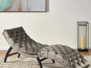 Garrett Tufted Velvet Foldable Chaise lounge by Christopher Knight Home