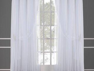 ATI Home Catarina layered Grommet Top Curtain Panels   Set of 2