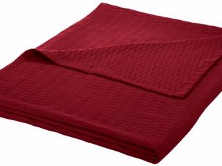 Impressions All Season luxurious 100  Cotton Blanket   Twin Twin Xl