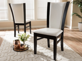 Contemporary Dining Chairs by Baxton Studio   Set of 2