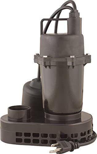 Sump Pump Cast Aluminum 115V