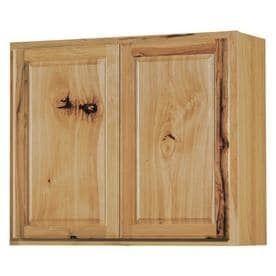 Double Door Kitchen Wall Cabinet w  2 shelves