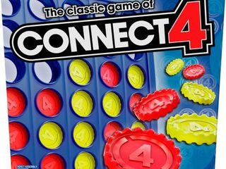 Hasbro Classic Connect 4 Game  Ages 6   Up