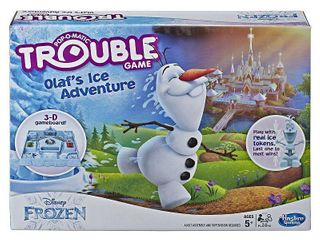 Trouble Disney Frozen Olaf s Ice Adventure Game for Kids Ages 5 and Up
