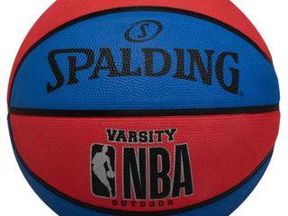 Spalding Varsity 29 5  Basketball   Red Blue