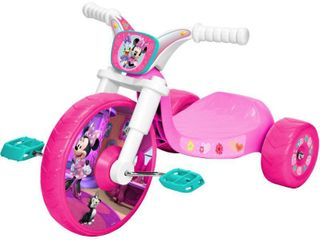 Disney Minnie Mouse Junior Fly Wheel Cruiser Tricycle   Pink