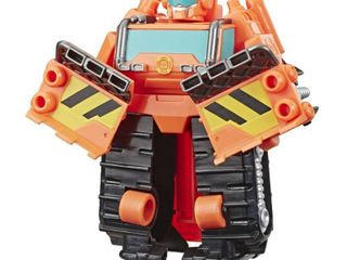 Playskool Heroes Transformers Rescue Bots Academy   Wedge the Construction Bot