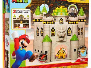 Nintendo Super Mario Bowser Castle with 2 5  Bowser Figure