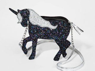 Girls  Unicorn Crossbody   Cat   Jacka Silver