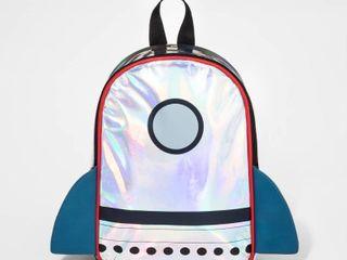 Toddler Boys  Rocket Backpack   Cat   Jack Silver