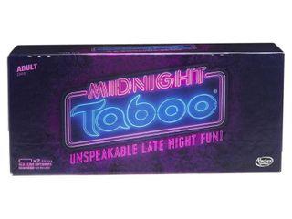 Taboo Midnight Board Game