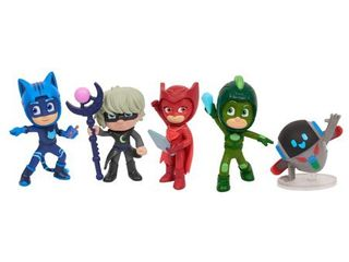 PJ Masks Super Moon Adventure Collectible Figures   5 Pack