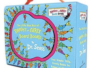 The little Blue Box of Bright and Early Board Books  Boxed Set  by Dr  Seuss