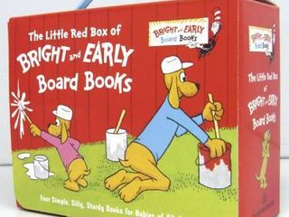 The little Red Box of Bright and Early Board Books by P  D  Eastman and Michael Frith