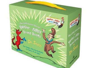 little Green Box of Bright and Early Board Books   by Dr  Seuss  Hardcover