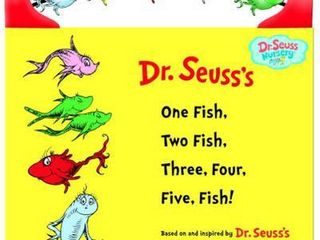 One Fish  Two Fish  Three  Four  Five Fish  Hardcover   Dr  Seuss