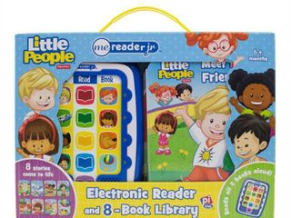Fisher Price little People Electronic Me Reader Junior 8 book Boxed Set