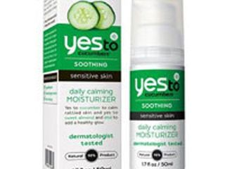 Yes To Cucumbers Soothing Daily Moisturizer Sensitive Skin 1 7 Fl Oz