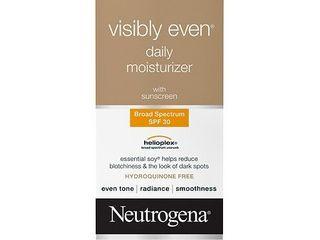 Neutrogena Visibly Even Daily Facial Moisturizer  SPF 30  1 7 fl  Oz