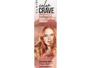 Clairol Color Crave Hair Makeup Copper  Brown  1 52 fl oz